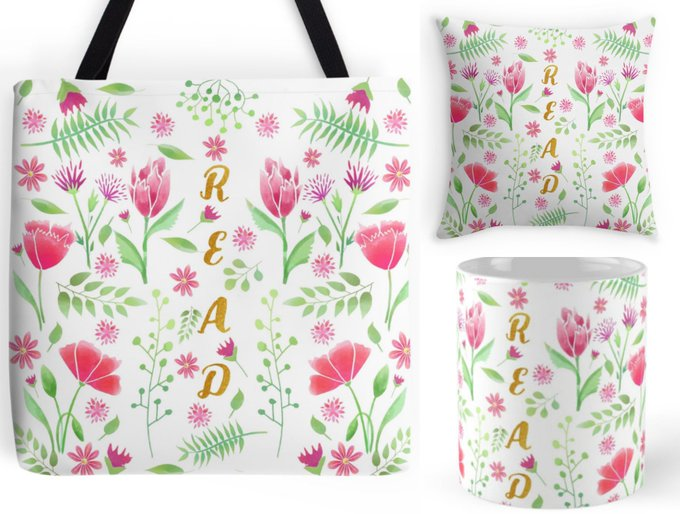 Read Tote Bag, Pillow & Mug Giveaway