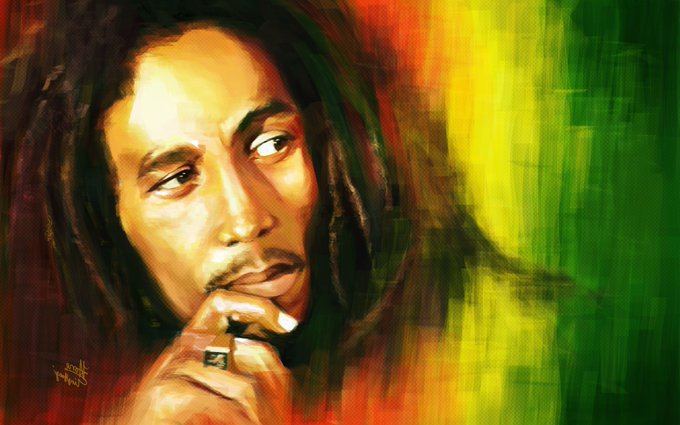 As it was in the beginning; One Love! So shall it be in the end; One Heart! Happy Birthday Bob Marley