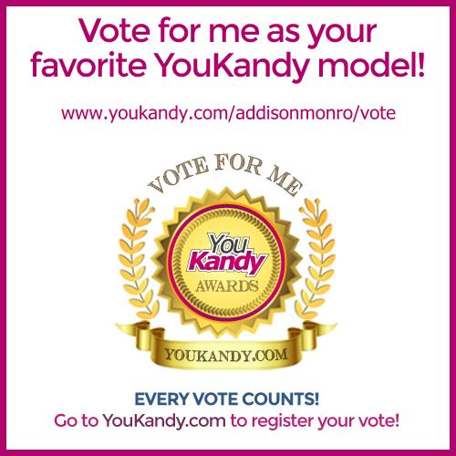 YouKandy Model of the Month - Vote for me! https://t.co/dPPn5NueZa https://t.co/iLR9VHF7Cf