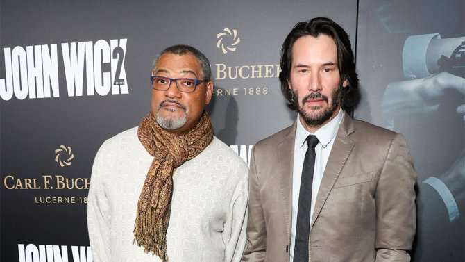 How JohnWick2 pulled off a Matrix reunion with Keanu Reeves and Laurence Fishburne