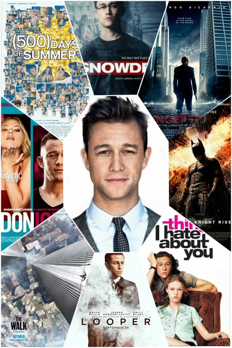 Happy Birthday Joseph Gordon Levitt! He celebrates his 36th birthday today.