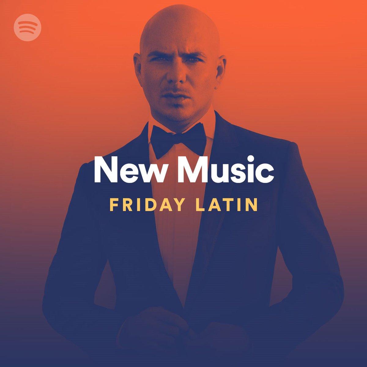 "Appreciate that ""Options"" is on Spotify's New Music Fridays Latin playlist #happyfriday https://t.co/rIlQaB5SSP https://t.co/Ylb80TMvPN"