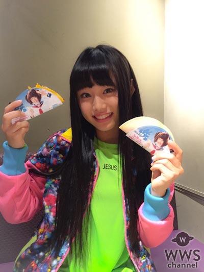 私立恵比寿中学の廣田あいかがTACO BELLに来店!映画『咲-Saki-』とのキャンペーン商品『2タコスコンボ』を実食