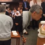 Singapore leaders celebrate Prime Minister Lee Hsien Loong's upcoming 65th birthday