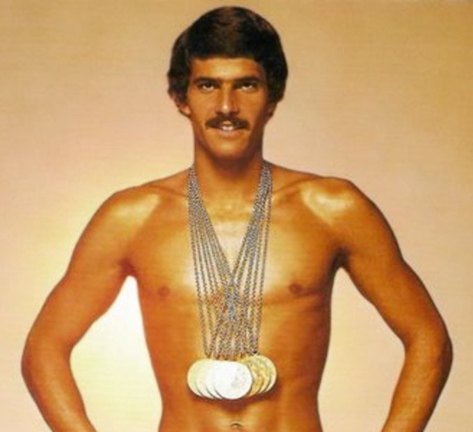 Happy birthday to 9 time Olympic gold medalist and former multiple world record holder Mark Spitz.