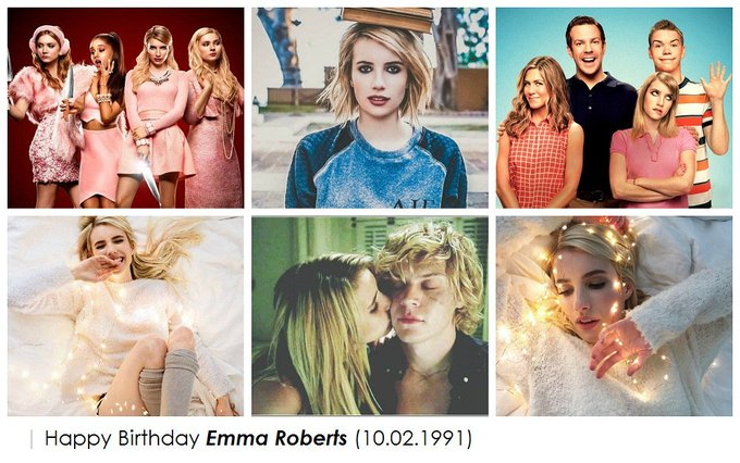 - Happy 26th birthday, Emma Roberts!