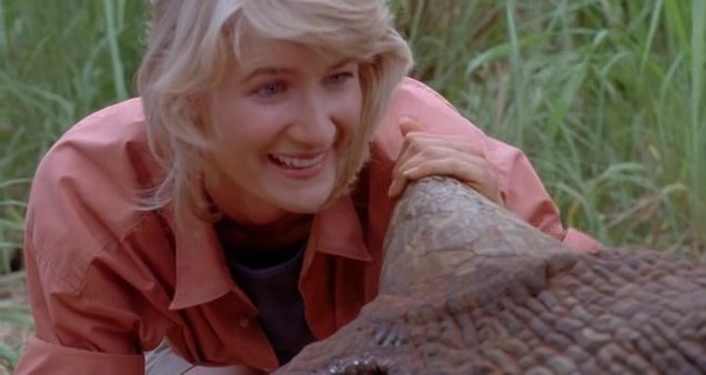 Happy Birthday to Laura Dern from Jurassic Park!