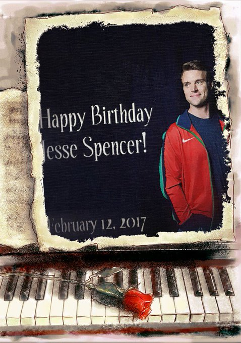 Happy Birthday, Jesse Spencer!
