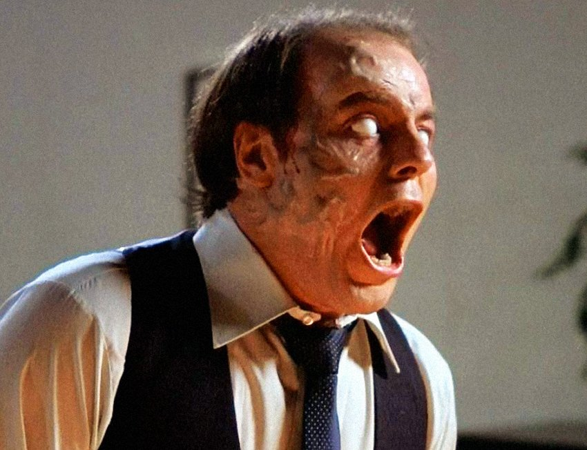 Wishing Michael Ironside a very happy 67th birthday! Seen here in David Cronenberg\s Scanners (1981).