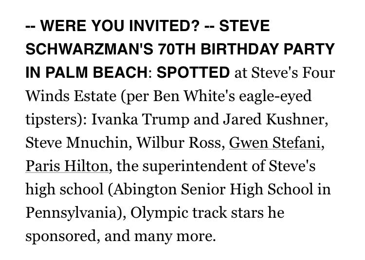 Steve Schwartzman went to Abington?! Boooo!!! Go Cheltenham! https://t.co/k9FOAtnQ8Y https://t.co/c0sbs25YYU