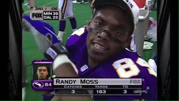 Silly me man.....Happy Birthday to my favorite football player ever ever Randy Moss