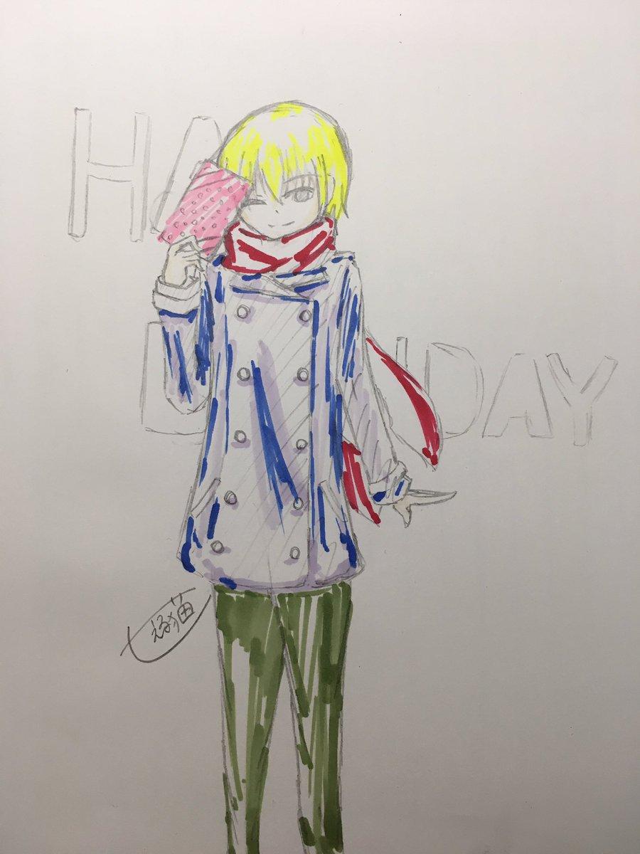 はっぴぃばぁーすでぇぇぇい!!!! #十束多々良生誕祭2017  #十束多々良生誕祭  #十束多々良  #anime_k