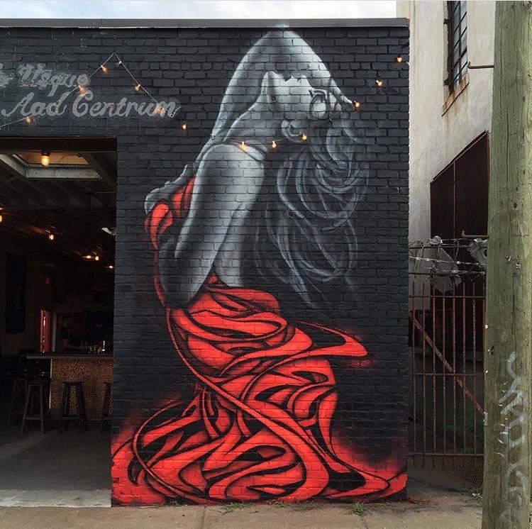 Street Art works by the artist Zimer found in Bushwick Brooklyn   #art #mural #arte #streetart https://t.co/ieQCP6ksXc