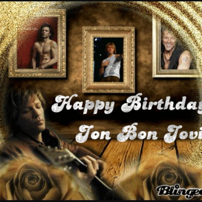 Happy birthday to the worlds greatest rock star Jon bon Jovi