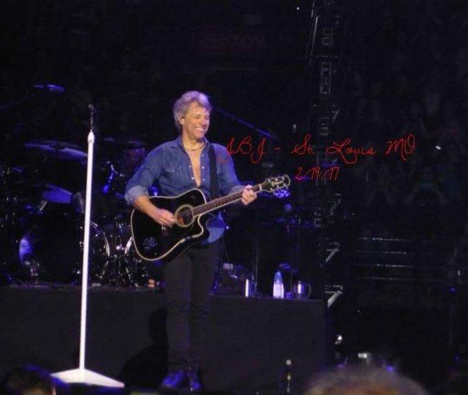 Happy 55th Birthday to Jon Bon Jovi. Enjoy your day.