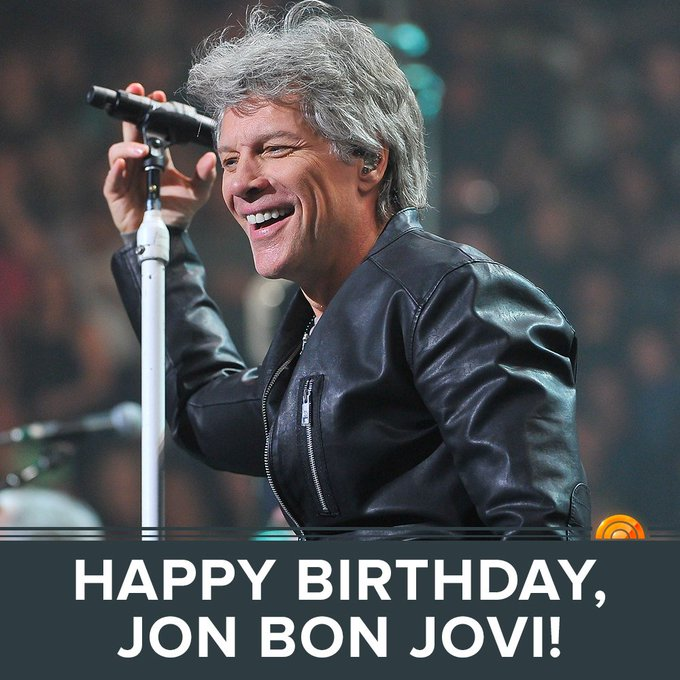 Jon Bon Jovis Birthday Celebration – Bon Jovi Birthday Card