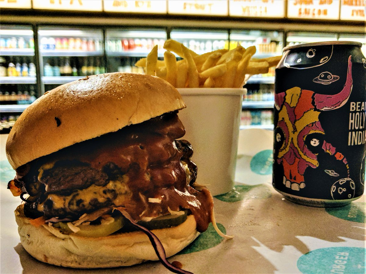 Beer + Burger The best 'beast' burgers in London