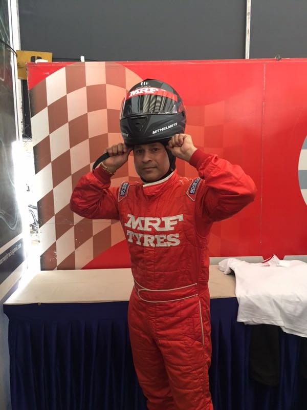 Different helmet, different gear, different sport, but the same adrenaline rush. @MRF_Racing https://t.co/YotjOSAnJI