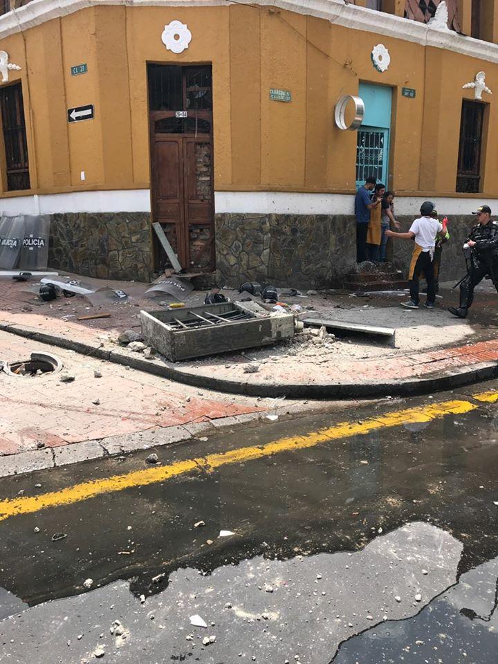 Atentado terrorista en Bogotá deja 26 personas heridas
