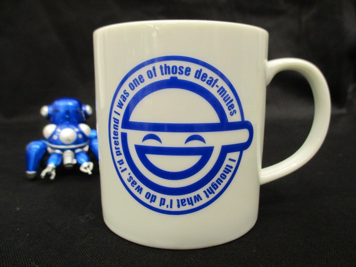 【商品紹介】攻殻機動隊S.A.C.笑い男マグカップ800円+税笑い男のマークが映えて存在感バッチリなデザインになっており