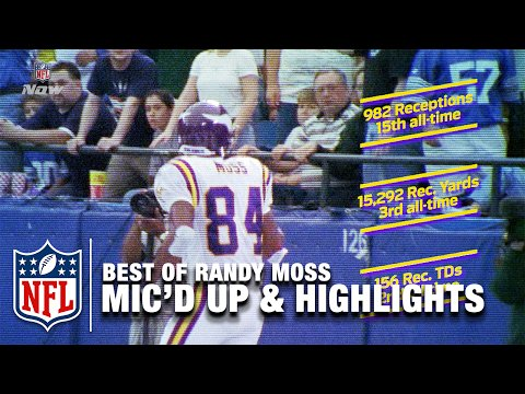 Best of Randy Moss Mic\d Up & Career Highlights | Happy 40th Birthday Randy Moss! | NFL -