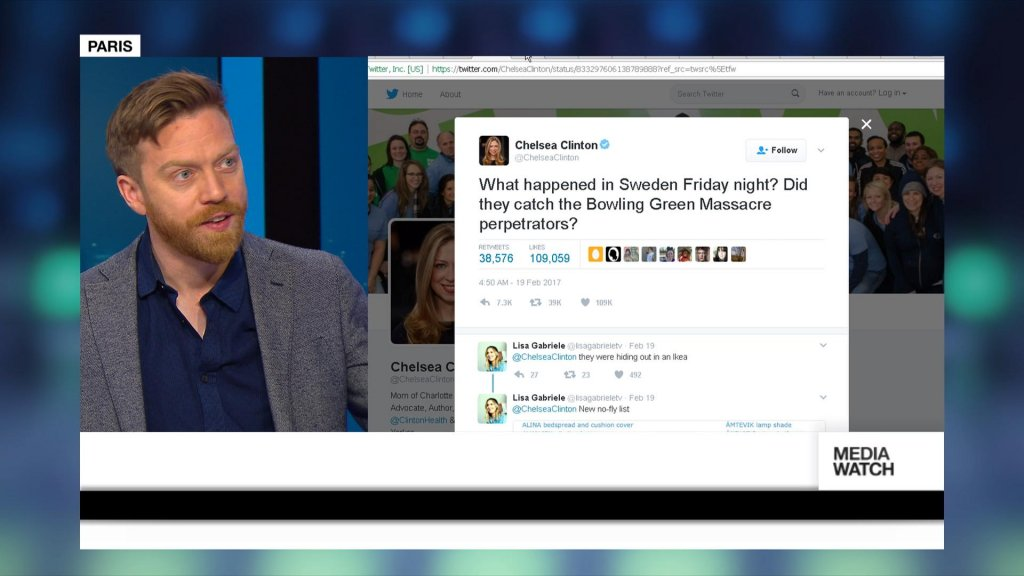 MEDIAWATCH - 'Last Night in Sweden'? Trump's comment causes confusion
