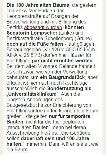 Guten Morgen! #Checkpoint heute: Nutzlos abgesägt in #Lankwitz, #BER, #Koppers, #Fussilet. https://t.co/QmTSmP0iBL