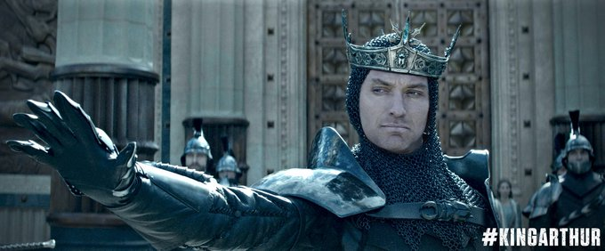Watch King Arthur: Legend of the Sword - Official Trailer [HD] starring Charlie Hunnam, Jude Law & Djimon Hounsou https://t.co/4BjrINJYFJ