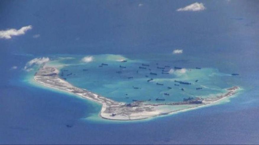 Report: China nearly finished building South China Sea structures to house missiles https://t.co/naBBy8vWCI