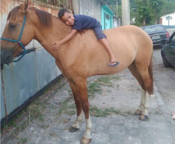 Ladrão devolve cavalo após família divulgar sofrimento de menino https://t.co/F6rcX5B0Kd