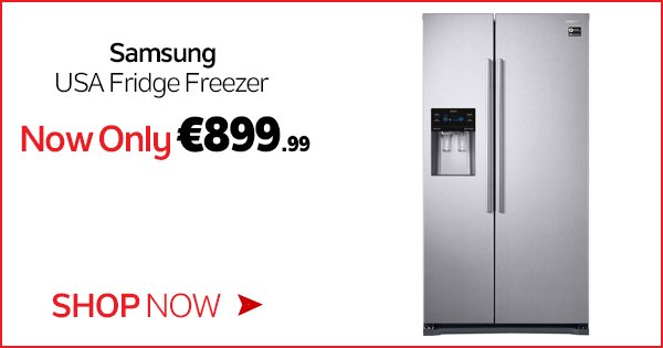 Keep your food fresher for longer with the Samsung USA Fridge Freezer, now only €899.99! - https://t.co/KDOqX9asM2 https://t.co/6Ie6O3h3nt