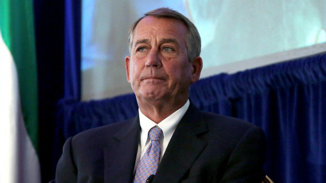 Boehner: ObamaCare repeal and replace is 'not going to happen' https://t.co/xLgsN90Szu