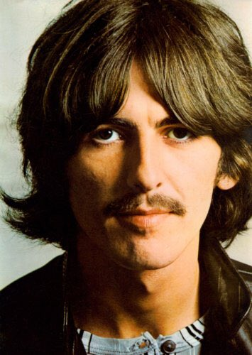 Happy birthday to my favorite guitarist. Love you and miss you, George Harrison.