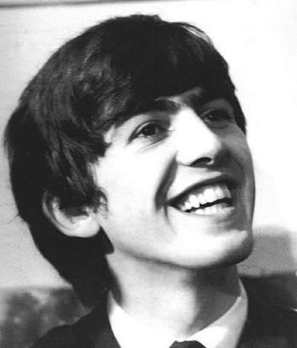 Happy birthday to my hero, George Harrison  would have been 74 today