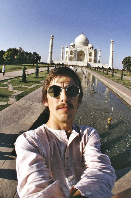Remembering George Harrison. A gentle and kind soul who still brings the world much joy. Happy bday George