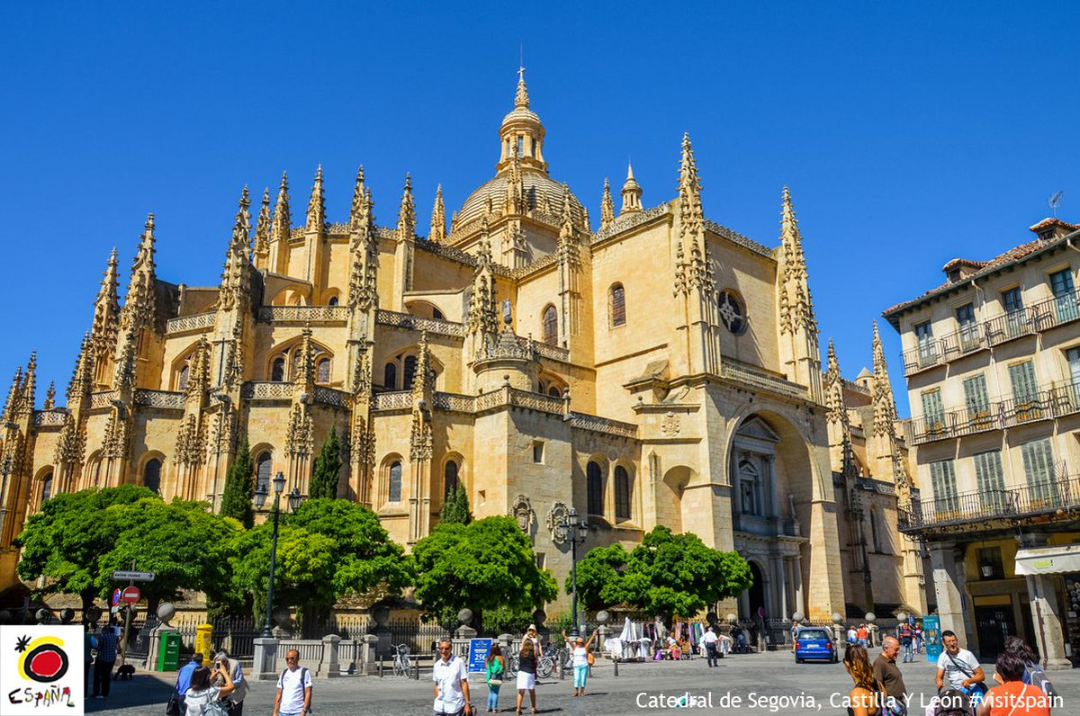 spain: #DidYouKnow…? The Segovia Cathedral has been dubbed 'the grand dame of cathedrals'. #VisitSpain #CuriousFac… https://t.co/Xso971yxg7