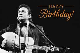 The one and only Johnny Cash would have turned 85 today.  Happy Birthday to the Man in Black!