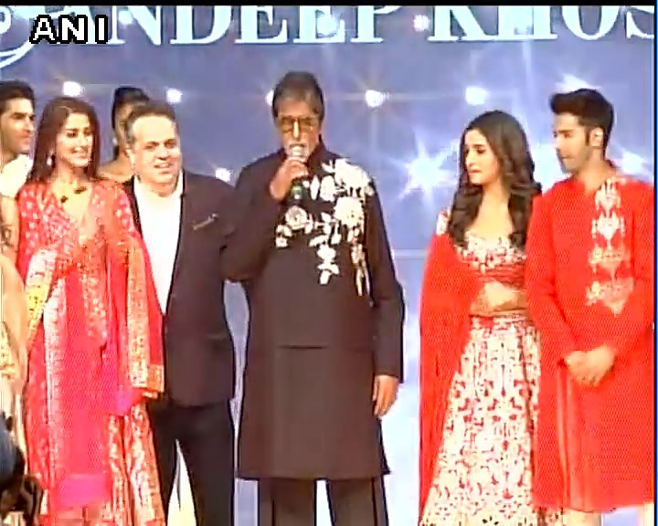 We've all gathered to support charity that works for children who suffer from cancer: Amitabh Bachchan at Caring With Style 2017 #Mumbai