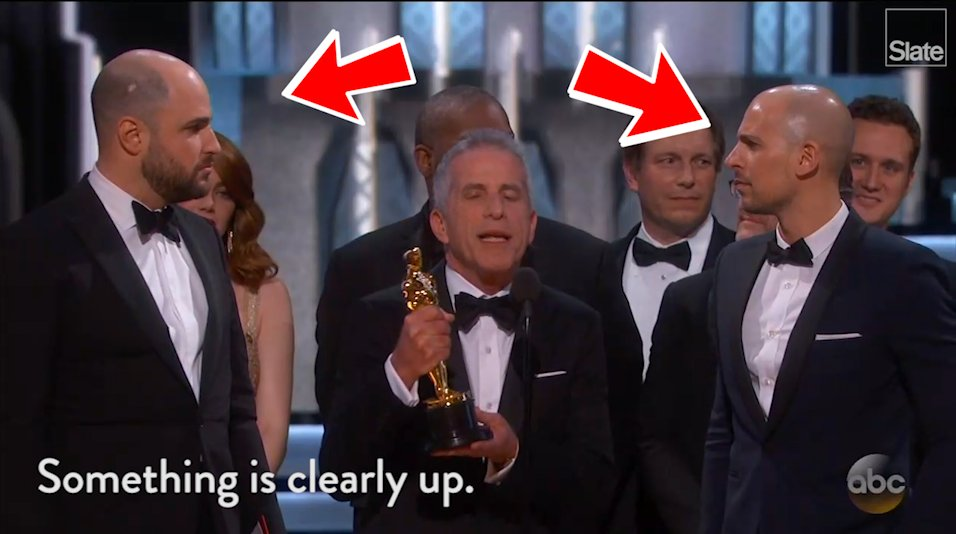 What actually happened during that awful Oscar gaffe? Let's annotate the tape!