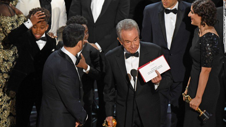 Was the Oscars 'La La Land' mix-up the most embarrassing awards show mistake ever?