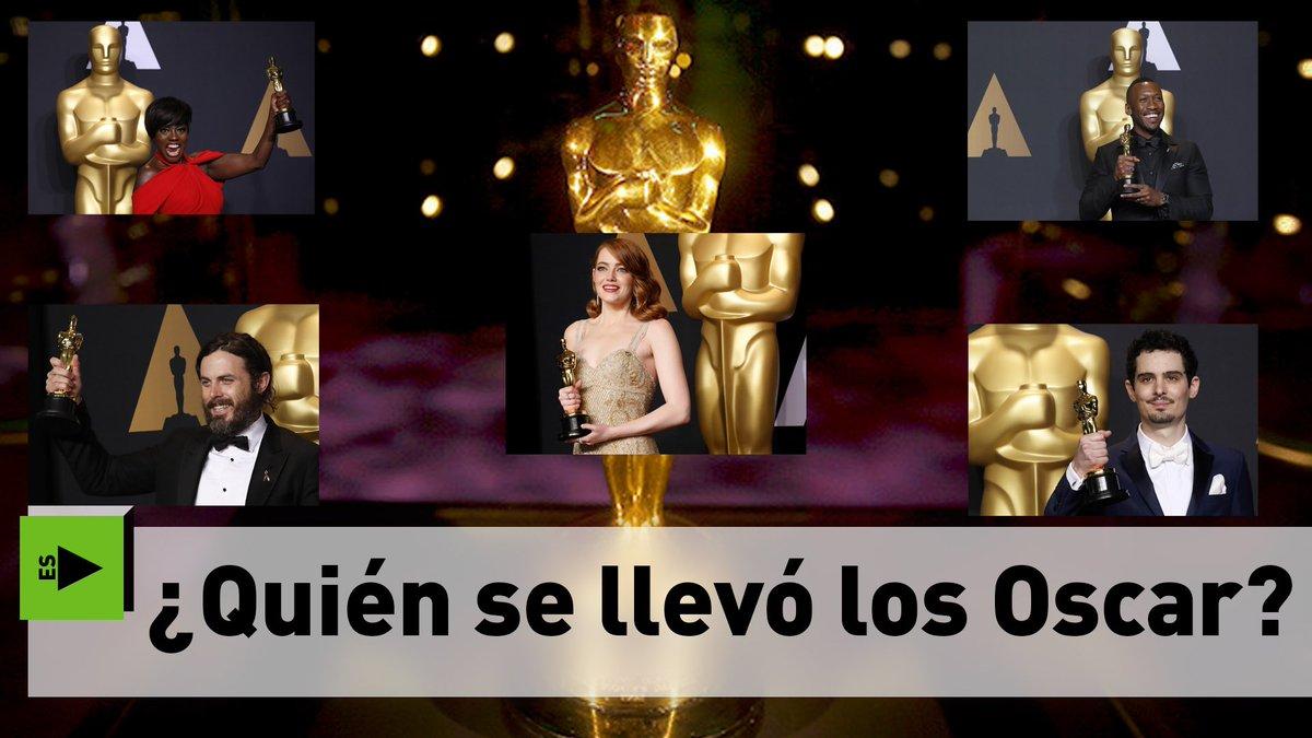 #Oscars Aquí están los ganadores(Más videos en