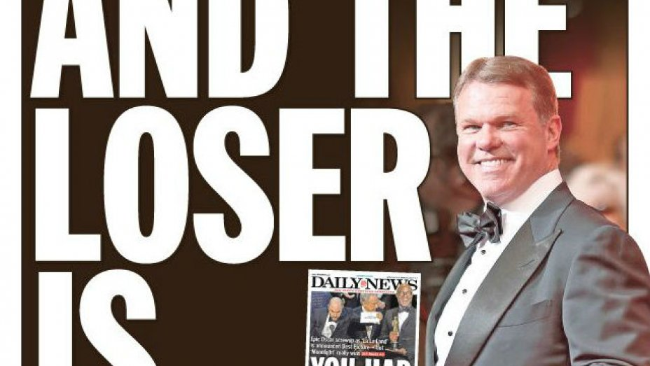 NY Daily News slams PwC accountant behind epic Oscars snafu