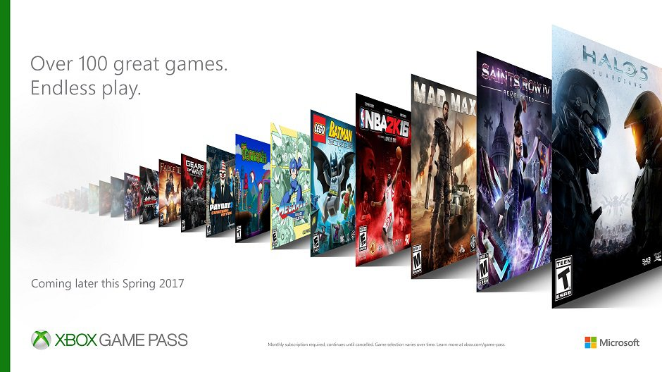 The Xbox Game Pass is a $9.99 Spotify-like game subscription by @romaindillet