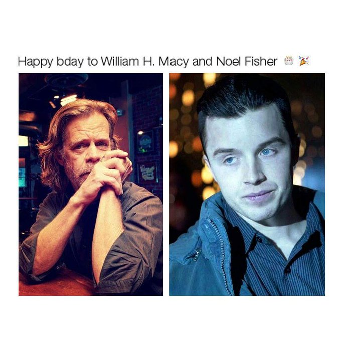 Happy birthday to 2 of my favorite actors! , . Thank you