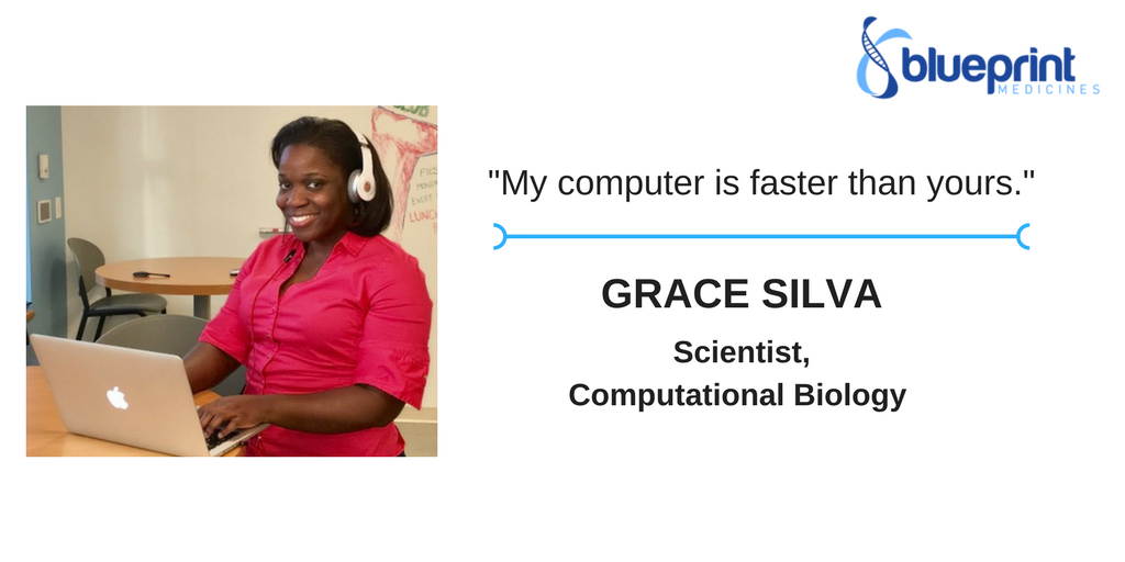Meet our #ActualLivingScientist Grace Silva https://t.co/P2hdsobeVX