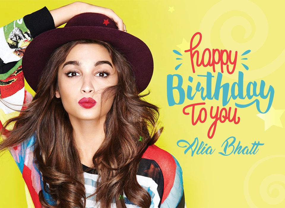 Alia Bhatt turns 24! Happy Birthday,