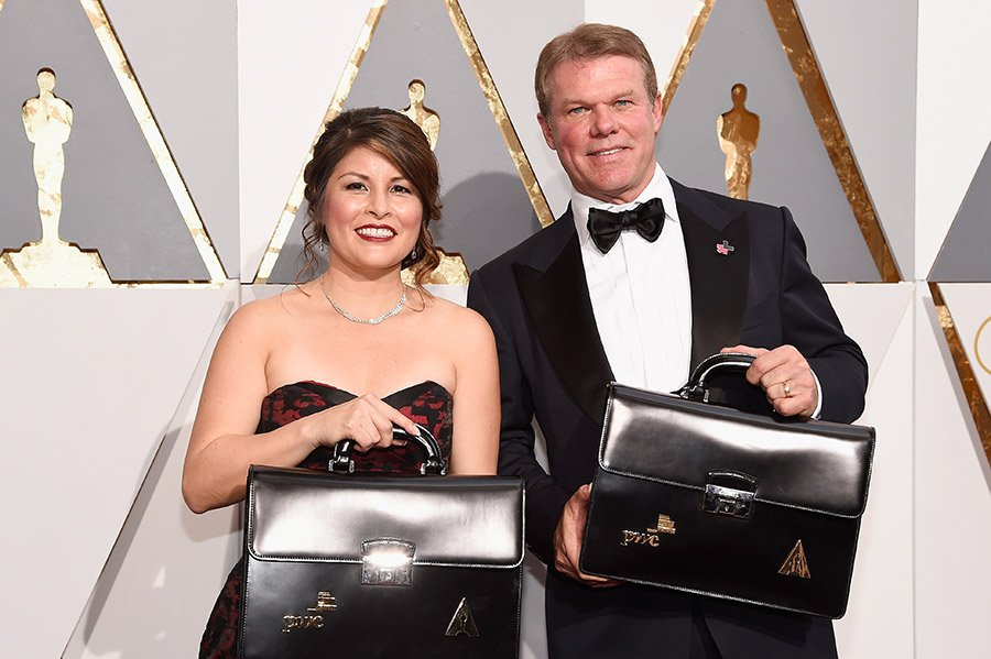 The accounts behind the Oscars mix up now have security guards after receiving death threats