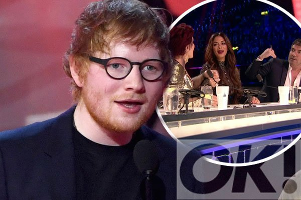 How could we forget Ed Sheeran was rumoured to date THIS X Factor judge?
