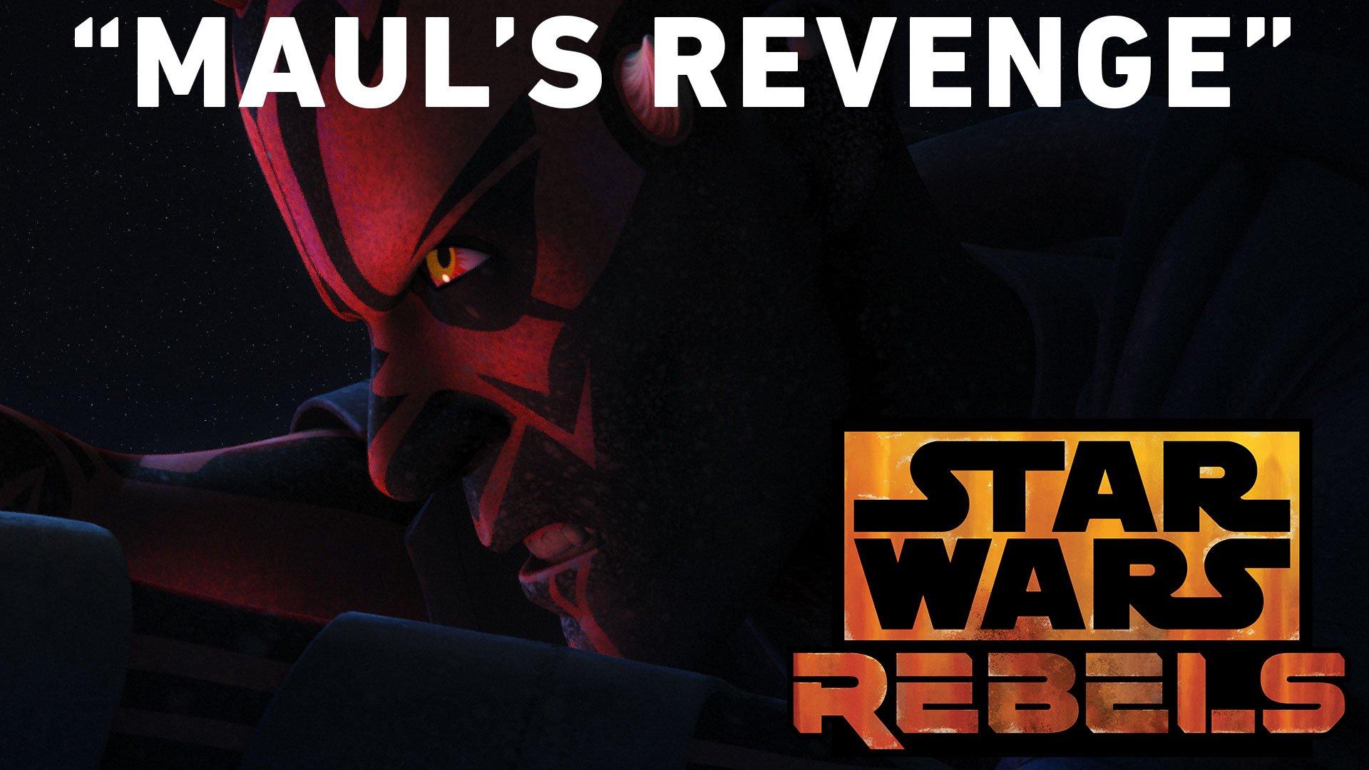 """Maul returns for revenge against Obi-Wan Kenobi in """"Twin Suns."""" Airs Saturday, March 18 at 8:30pm ET/PT on @DisneyXD. #StarWarsRebels https://t.co/UT1GYhOpQB"""