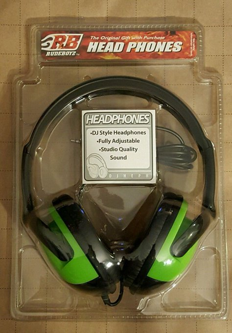 #fashion #headphones #free #style #giveaway #np Rudeboyz Headphones RB RUDEBOYZ DJ Style New Sealed. #rt